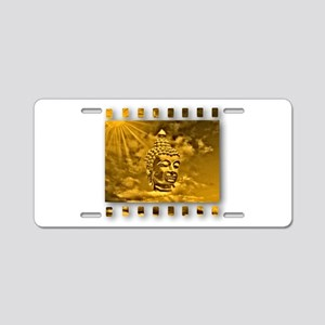 buddha Aluminum License Plate