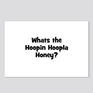 Whats the Hoopin Hoopla Honey Postcards (Package o