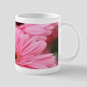 Pink Gerbera Daisies Mugs