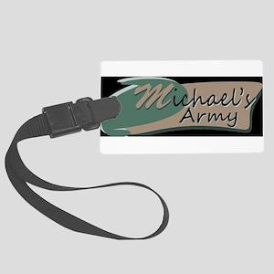 MICHAELS ARMY Luggage Tag