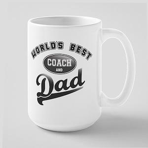 Best Coach/Dad Large Mug