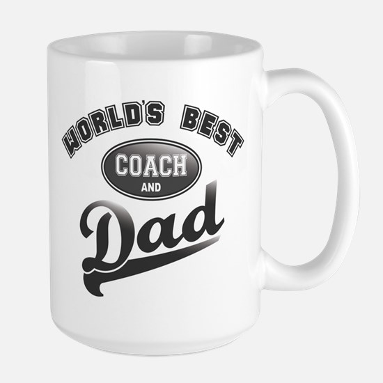 Best Coach/Dad Large Mug