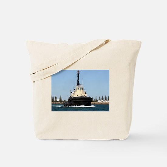 Tug Boat Tarpan, Outer Harbor Tote Bag