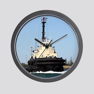 Tug Boat Tarpan, Outer Harbor Wall Clock