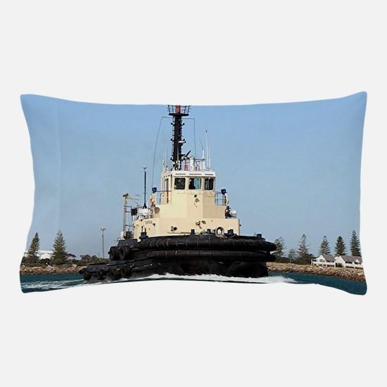 Tug Boat Tarpan, Outer Harbor Pillow Case