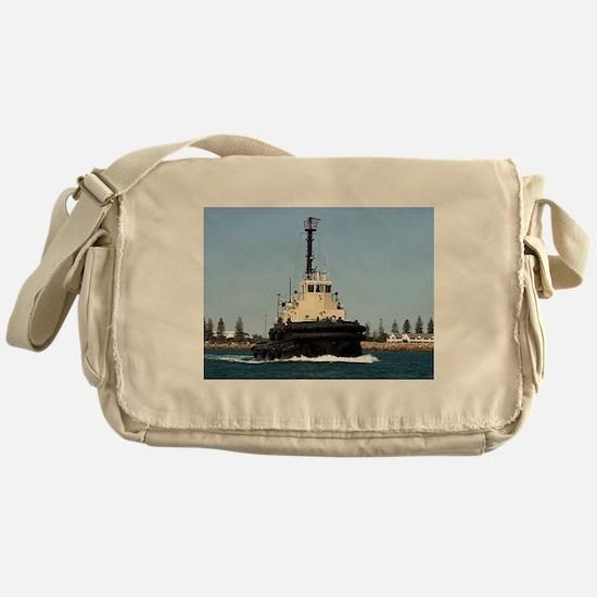 Tug Boat Tarpan, Outer Harbor Messenger Bag