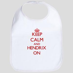 Keep Calm and Hendrix ON Bib