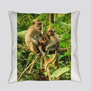 Togetherness on a Branch Everyday Pillow