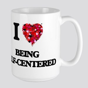 I Love Being Self-Centered Mugs