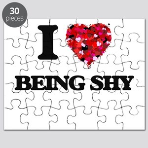 I Love Being Shy Puzzle