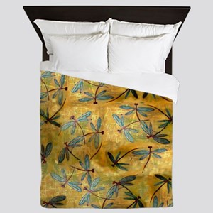 Dragonfly Haze Cloud Queen Duvet