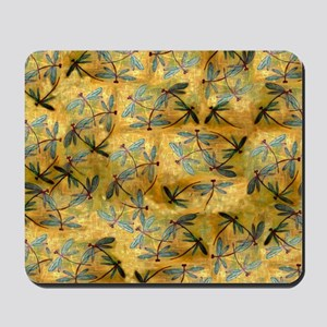 Dragonfly Haze Cloud Mousepad
