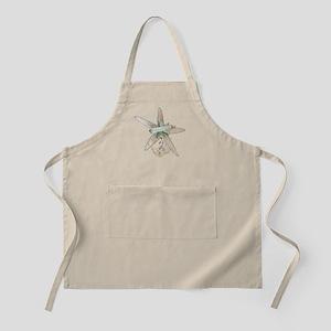 Trendy Starfish and Seashells Apron
