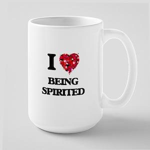 I love Being Spirited Mugs