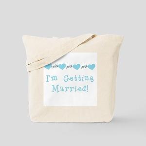 I'm Getting Married (blue) Tote Bag