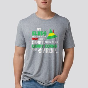 We Elves Try To Stick To Four Food Groups T-Shirt