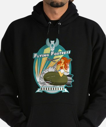 Funny Death from above Hoodie (dark)