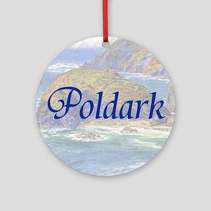 Poldark Round Ornament