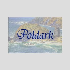 Poldark Rectangle Magnet