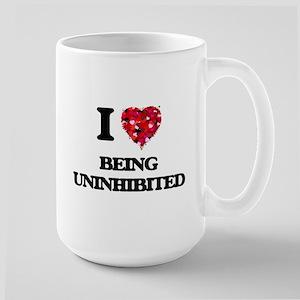 I love Being Uninhibited Mugs