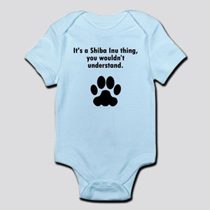Its A Shiba Inu Thing Body Suit