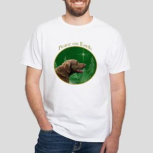Chessie Peace White T-Shirt