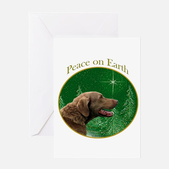 Chessie Peace Greeting Card