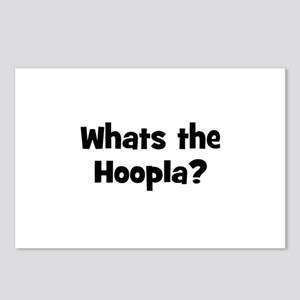 Whats the Hoopla? Postcards (Package of 8)