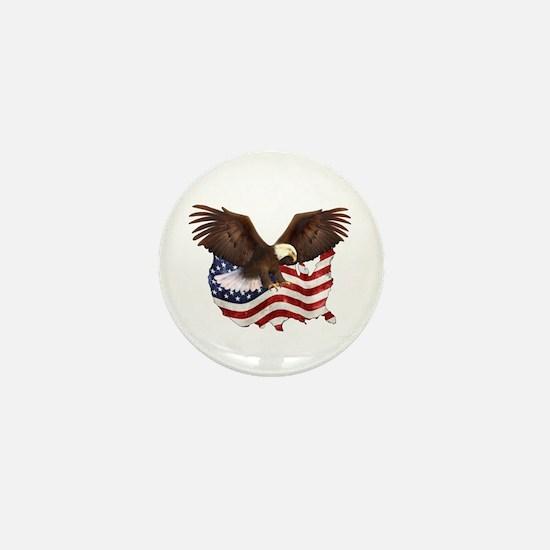 American Destiny Mini Button