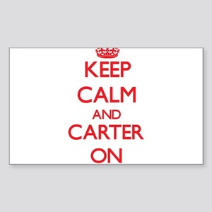 Keep Calm and Carter ON Sticker