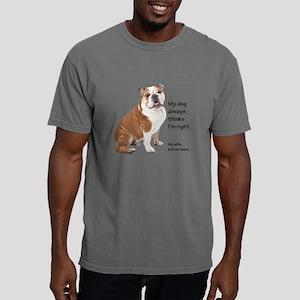 Bulldog v Wife T-Shirt