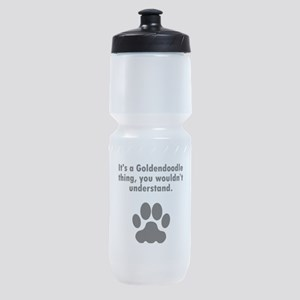 Its A Goldendoodle Thing Sports Bottle