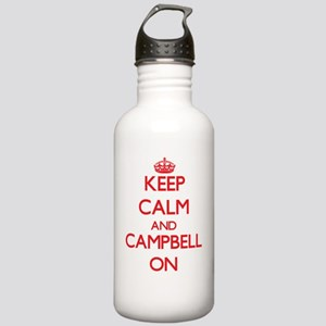Keep Calm and Campbell Stainless Water Bottle 1.0L