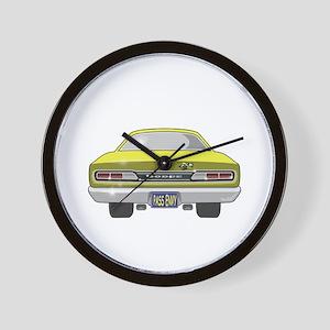 1969 Super Bee Wall Clock