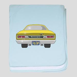 1969 Super Bee baby blanket