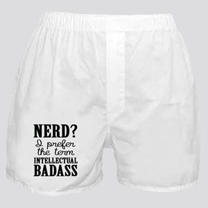 Nerds Are Badasses Boxer Shorts