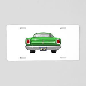 1969 Roadrunner Aluminum License Plate