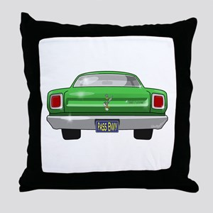 1969 Roadrunner Throw Pillow