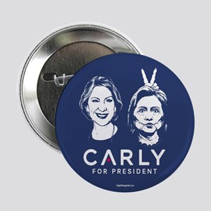 """Carly Hillary Bunny Ears 2.25"""" Button (10 pack)"""