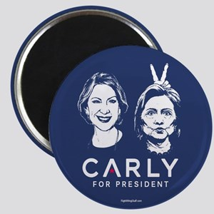 "Carly Hillary Bunny Ears 2.25"" Magnet (10 pack)"