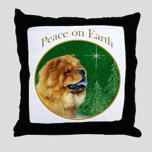 Chow Peace Throw Pillow
