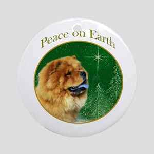 Chow Peace Ornament (Round)