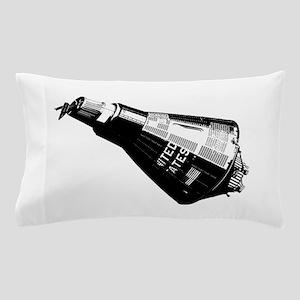 Friendship 7 Spacecraft Pillow Case