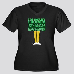 Im Sorry I Ruined Your Lives Coo Plus Size T-Shirt