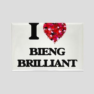 I Love Bieng Brilliant Magnets