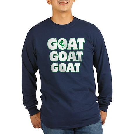 GOAT Long Sleeve Dark T-Shirt