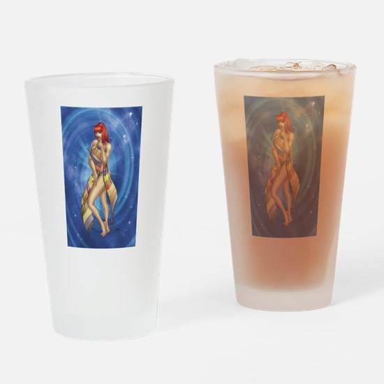 """""""The Scarf"""" Drinking Glass"""