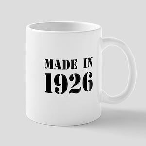 Made in 1926 Mugs