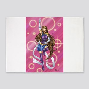 Sailor Pin-up 5'x7'Area Rug