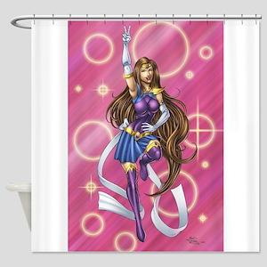 Sailor Pin-up Shower Curtain